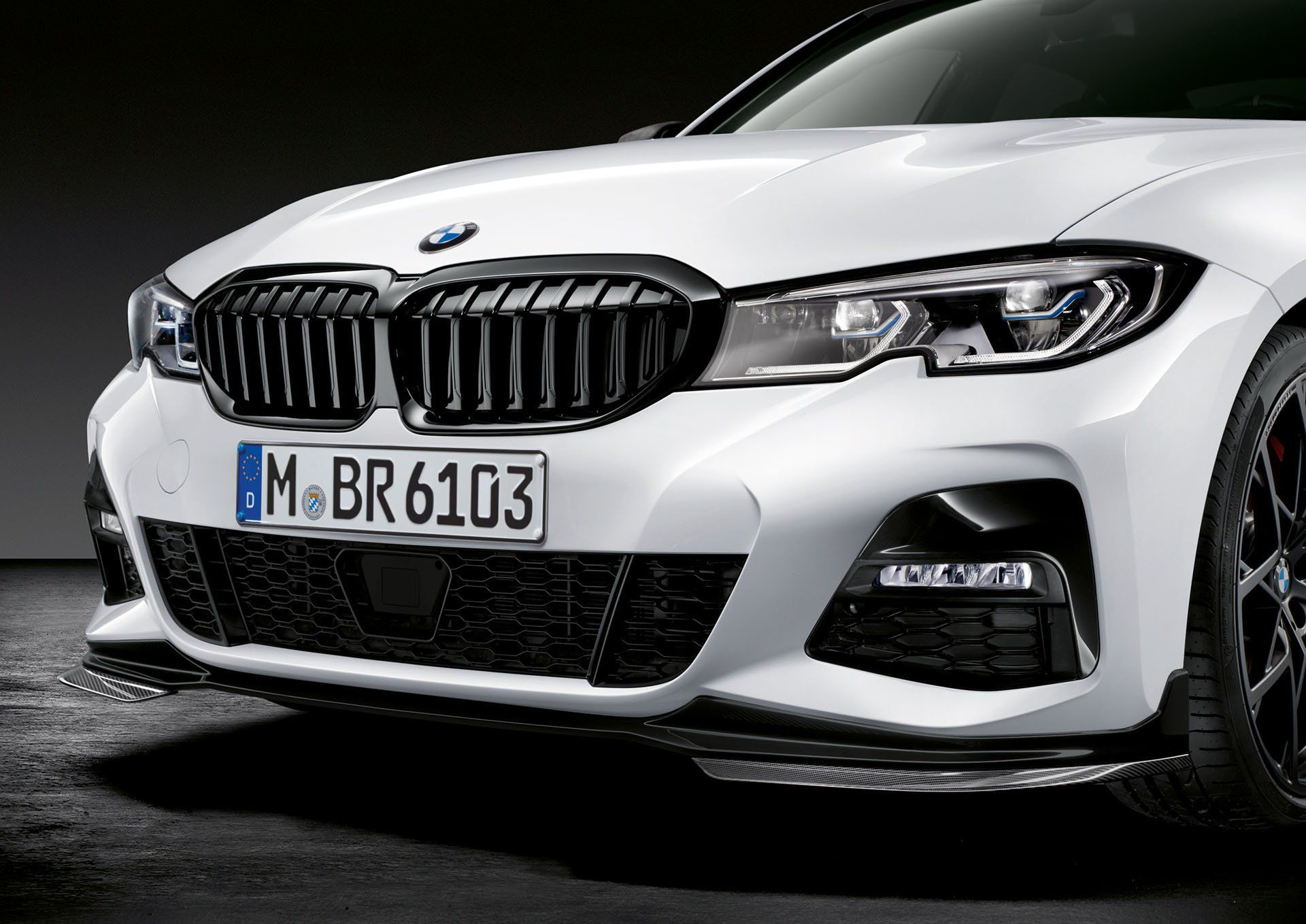 Bmw S New 3 Series Gets Sportier With Fresh M Performance Parts Carscoops Bmw 3 Series Sports Car Bmw