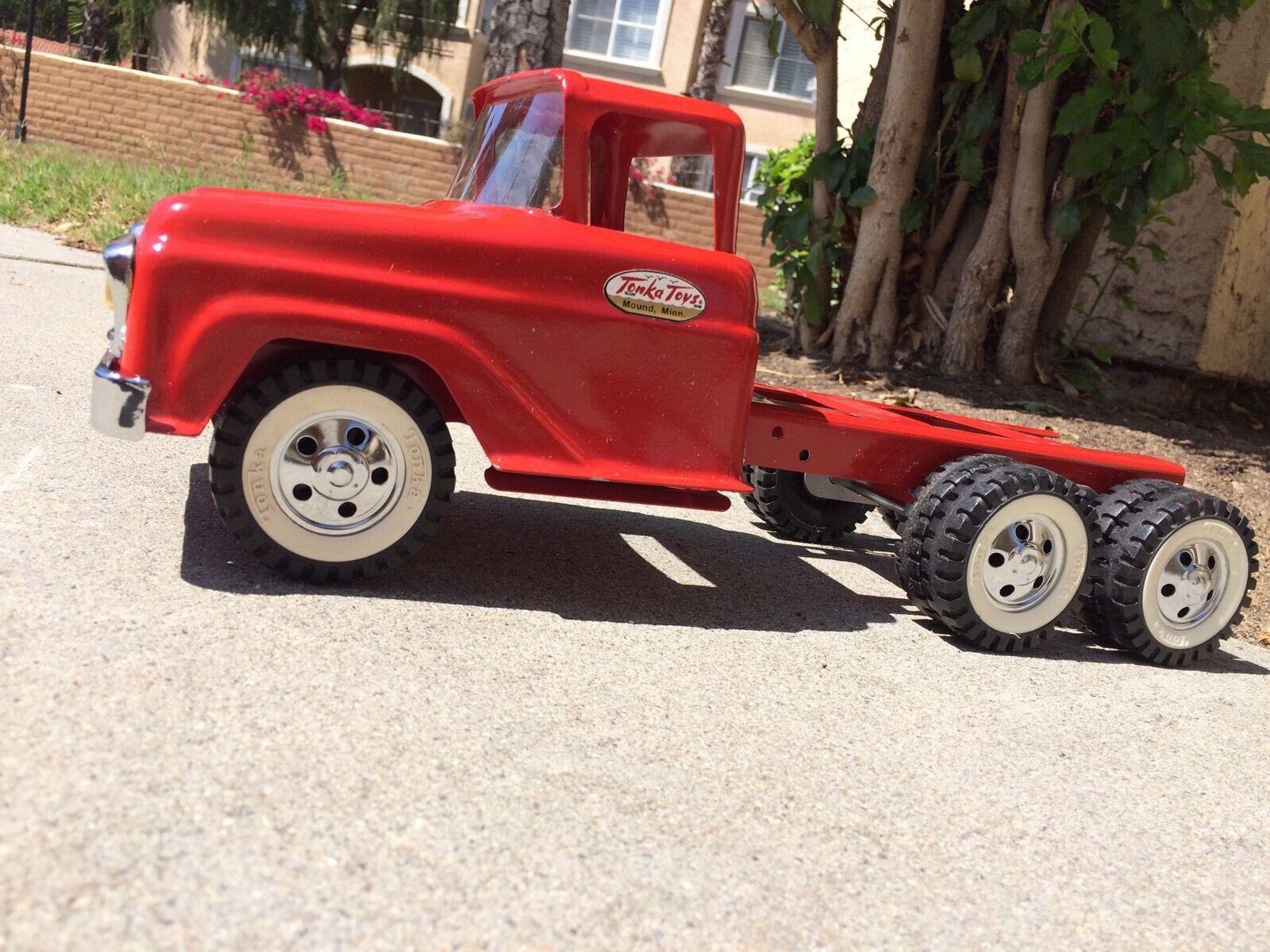1958 Beautiful Custom Tonka Truck Display in Toys, Hobbies, Diecast Vehicles, Cars, Trucks & Vans | eBay