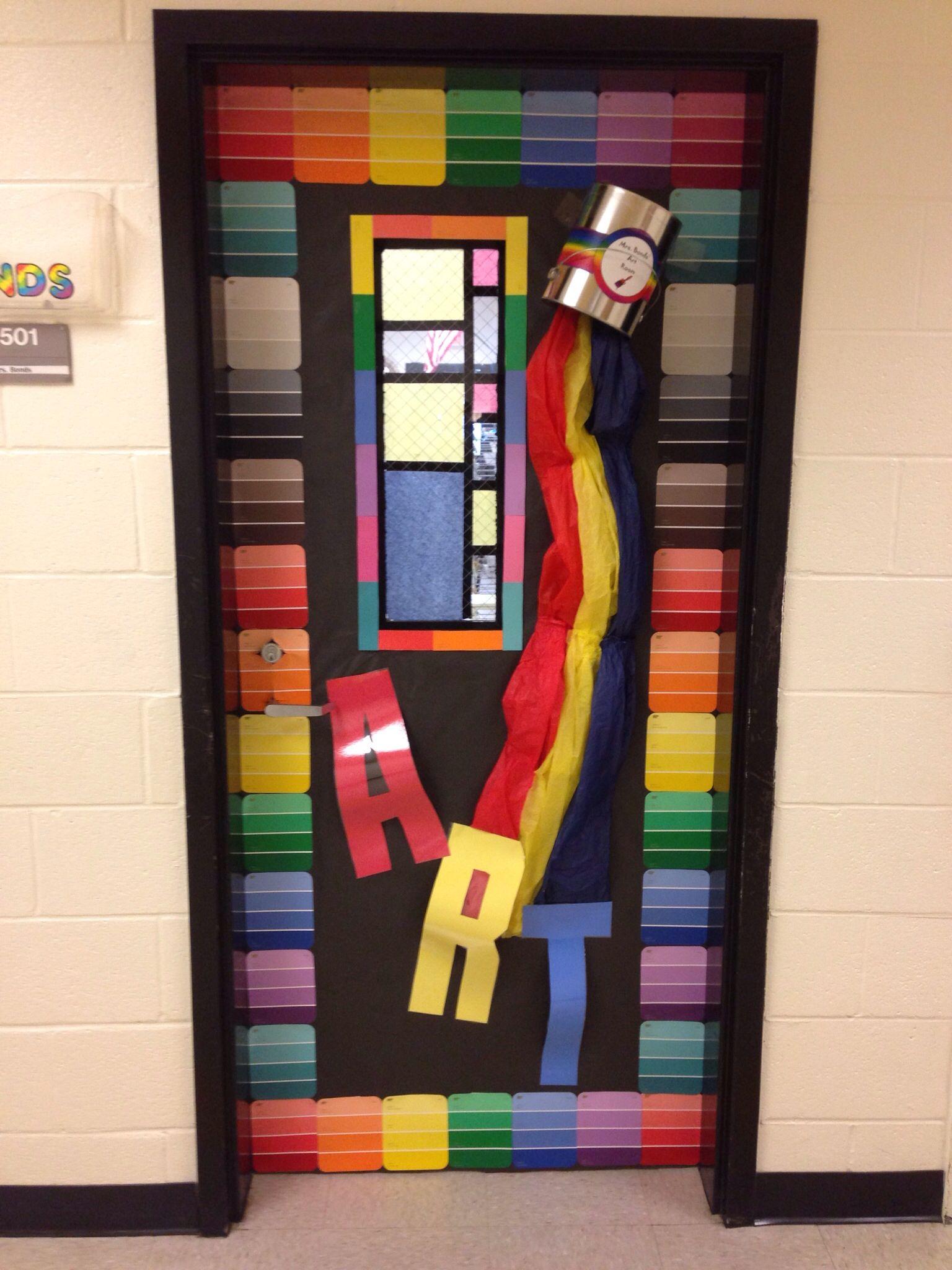 My Art Room Door Idea From Pinterest