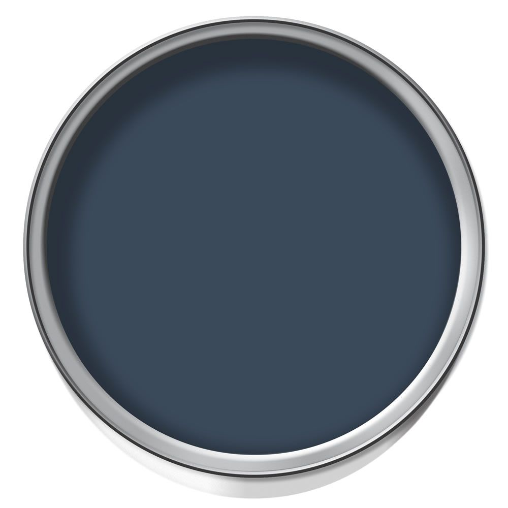 Crown Feature Wall Emulsion Paint Midnight Navy
