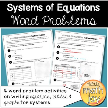 Systems of Equations Word Problems (With images) Systems