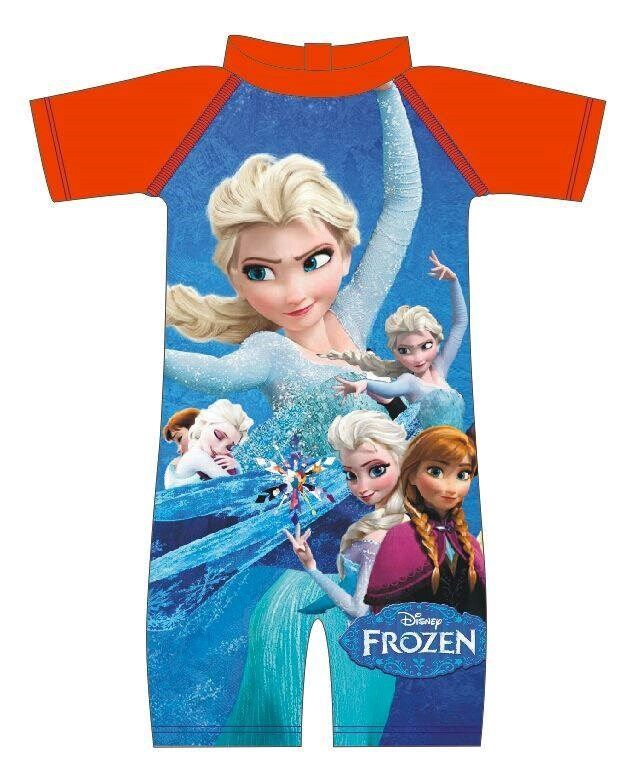 Swimming Suit - Frozen Elsa & Anna Blue | swimming suit, frozen, anna and elsa, baju renang, swimwear, for girl, olaf | (original price: 36.00) Promotion price: 36.00