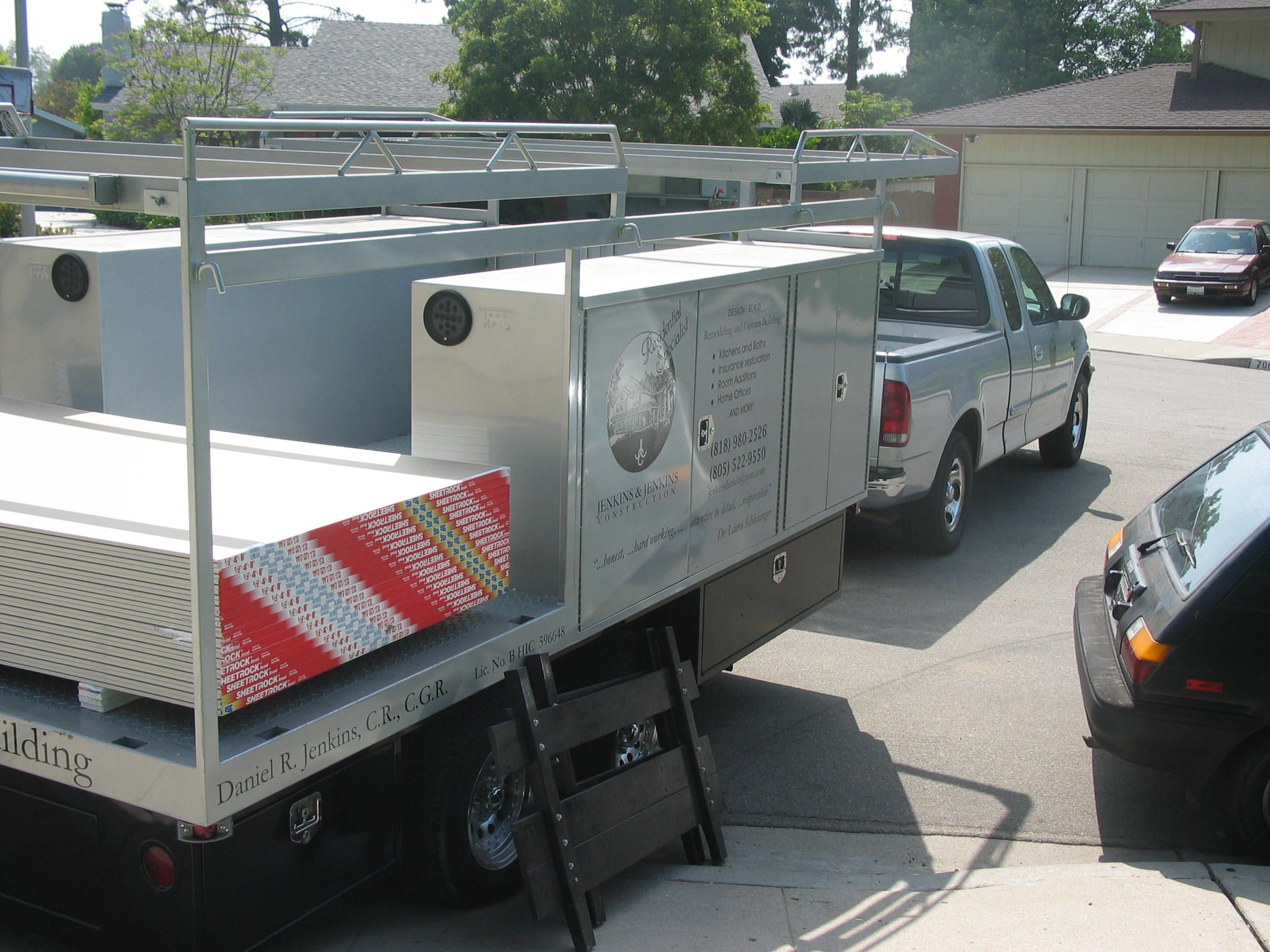 Daniel's Totally Awesome Work Trailer Work trailer