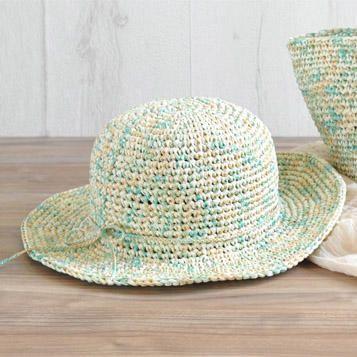 c56999675134 帽子|アイテム|カテゴリー一覧|作品レシピ|手編みと手芸の情報サイト ...