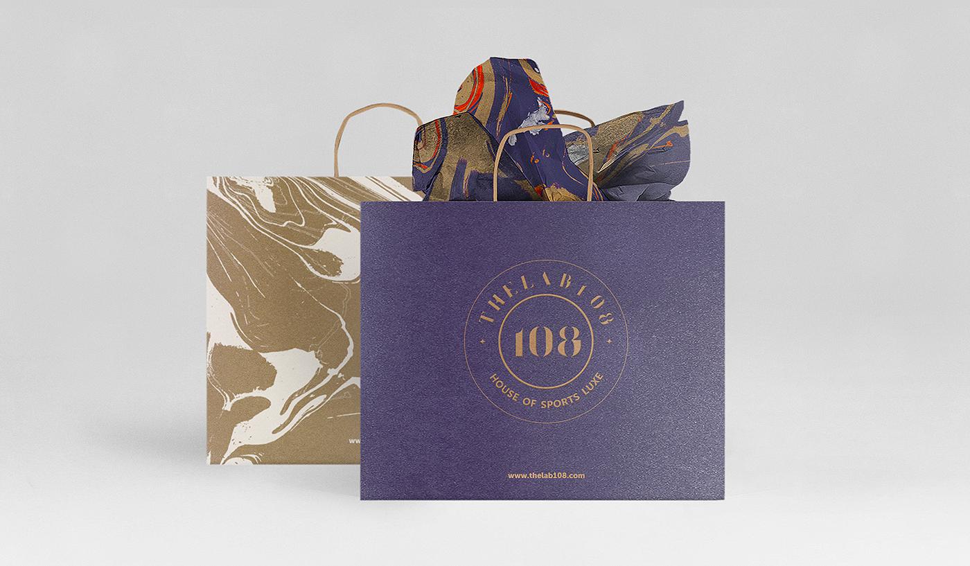 theLAB108, Women's Premium Active ApparelBrand Design Renewal / Brand Design Application (Offline matter expansion)