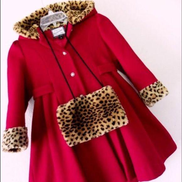 Victoria U.S.A Cap, Jacket, Pants Girls Pink Winter Polar Fleece Set