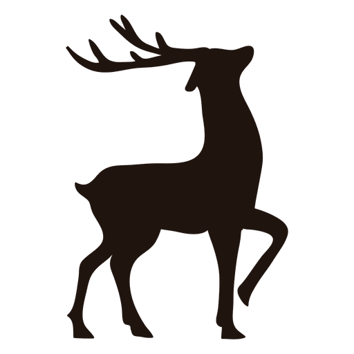 Reindeer Silhouette Standing 13 Ad Affiliate Sponsored Standing Reindeer Silhouette Reindeer Silhouette Silhouette Art Silhouette Christmas