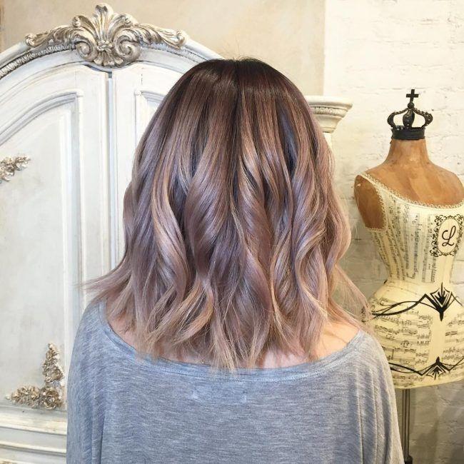 Rose Gold Balayage Hair Color For 2017 Hair Dark Ash Blonde Hair