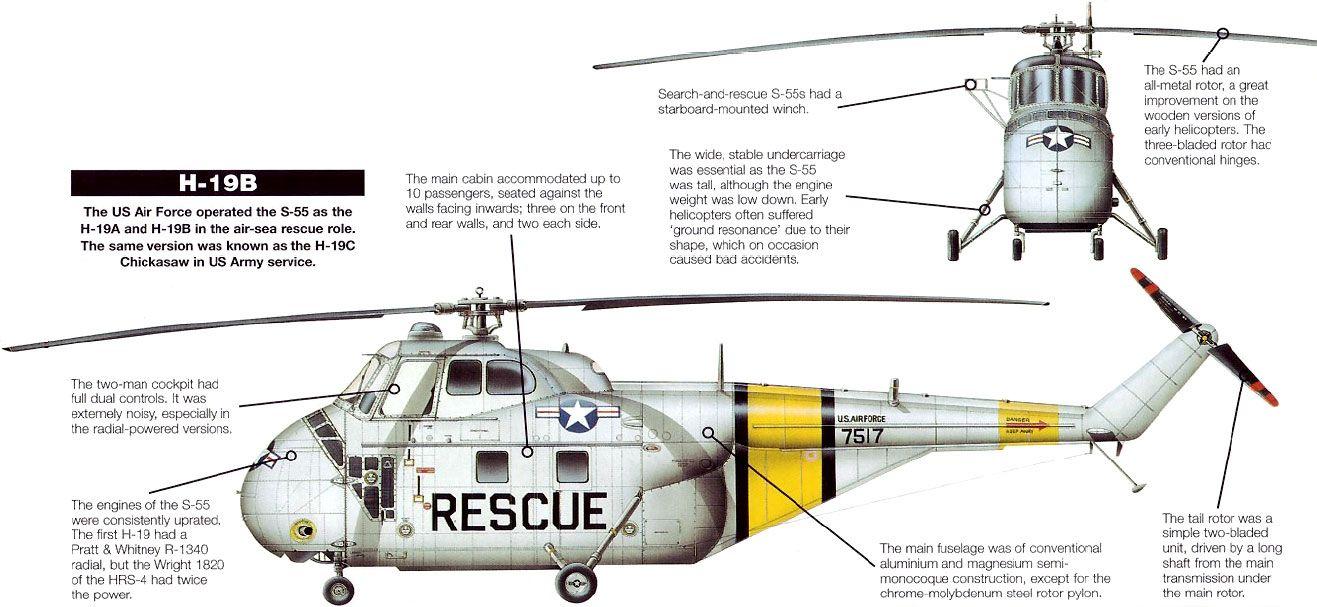 Sikorsky H-19 Chickasaw Digital Art by Walter Colvin