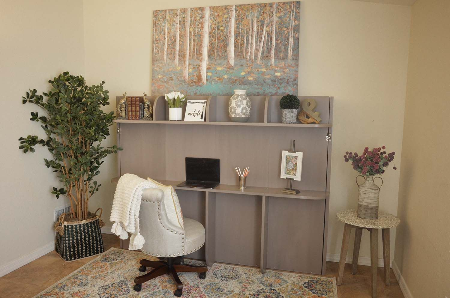 Check Out This BudgetFriendly DIY Murphy Bed For Small