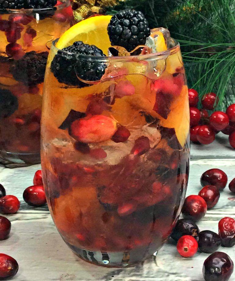 Thanksgiving Sangria Ideas: Holiday Sangria, Holiday