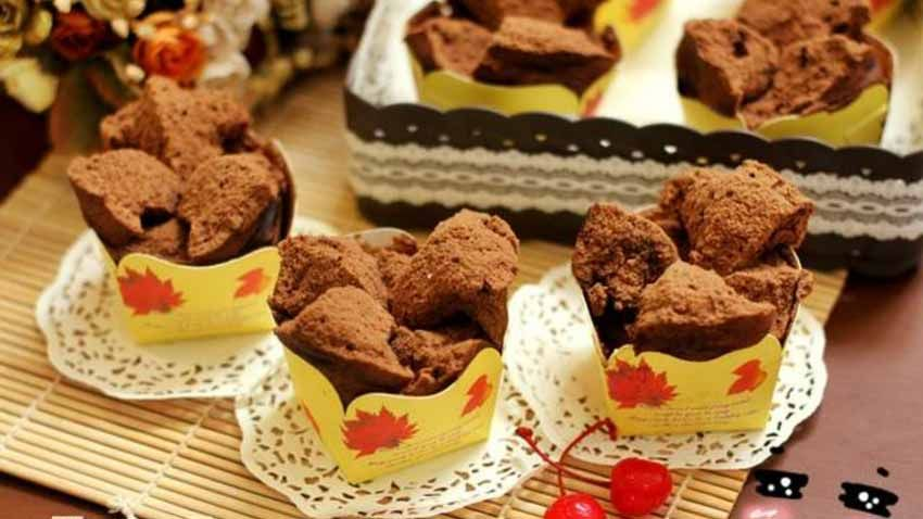 Resep Brownies Kukus Ny Liem Resep Kue Mangkok Makanan Manis