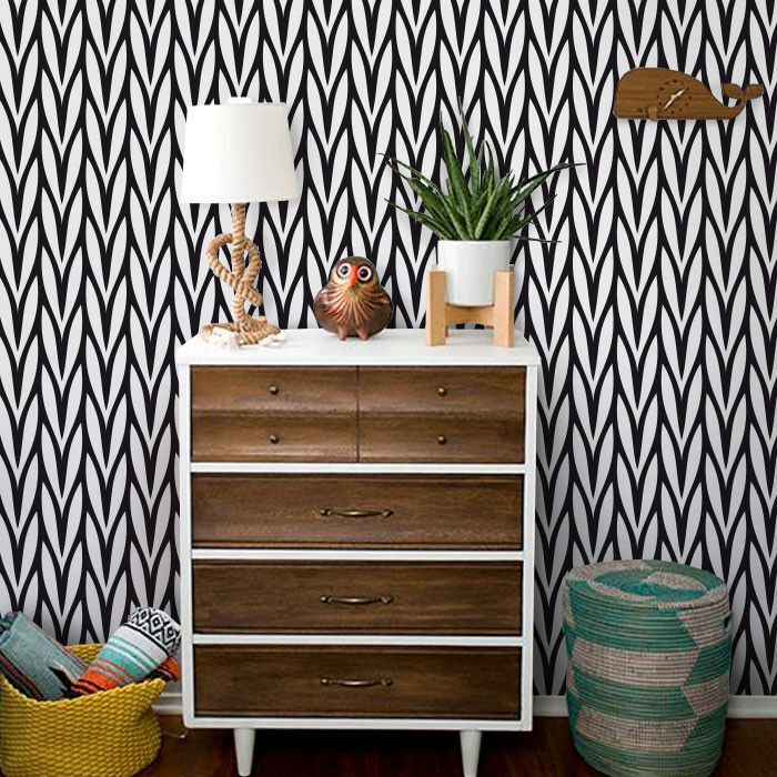 Knit Removable Wallpaper Removable Wallpaper Fabric Wallpaper Wallpaper Accent Wall