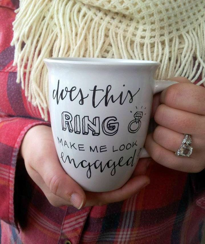10 Pretty Perfect Wedding Mugs to Floss With | Ring, Wedding and ...