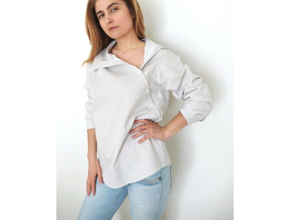 PDF Sewing Pattern Women\'s Cotton or Linen Shirt Sizes 38-40-42-44 ...