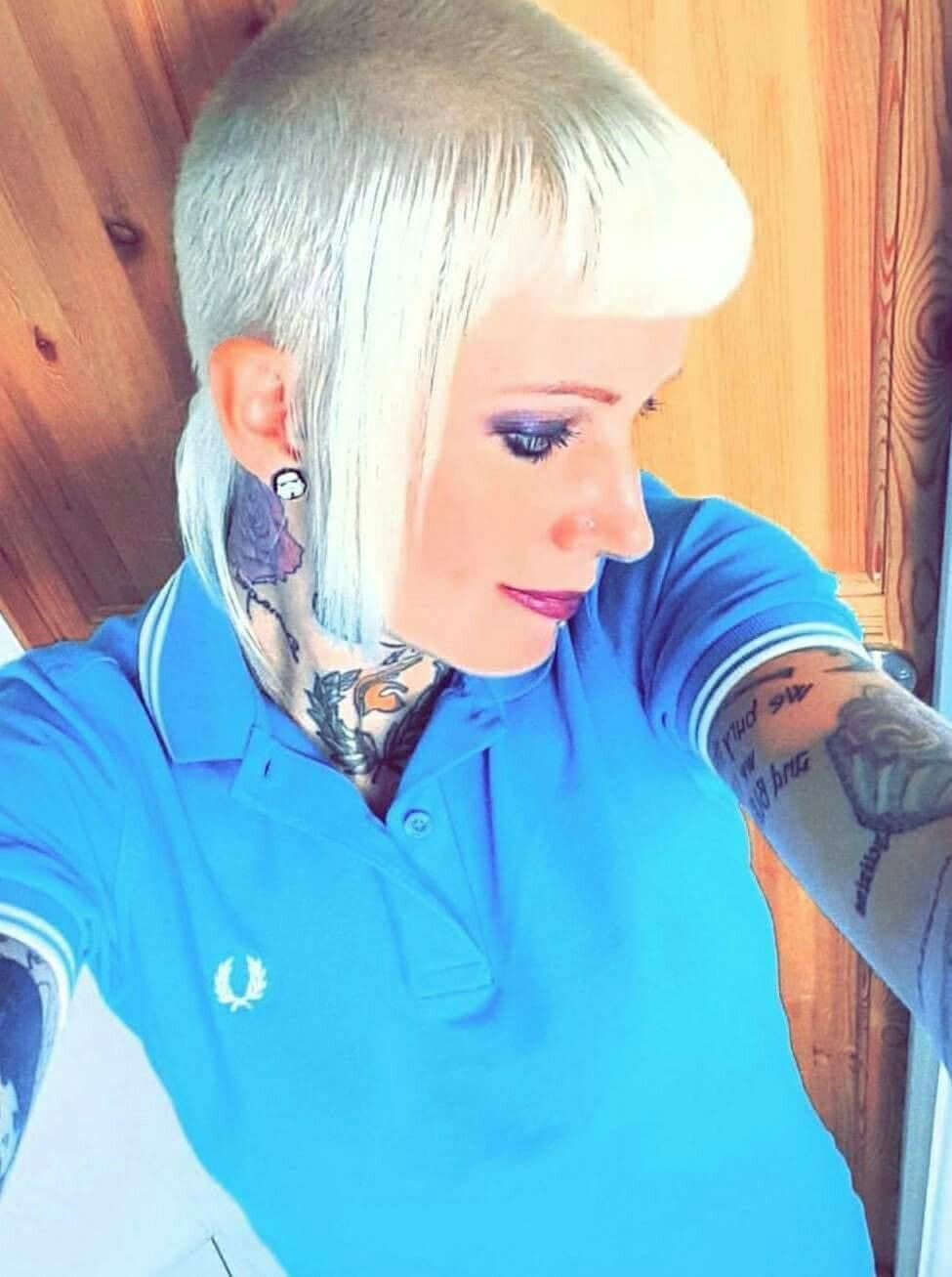 Fred Perry Girl Renees Skinhead Girl Skinhead Fashion Skinhead