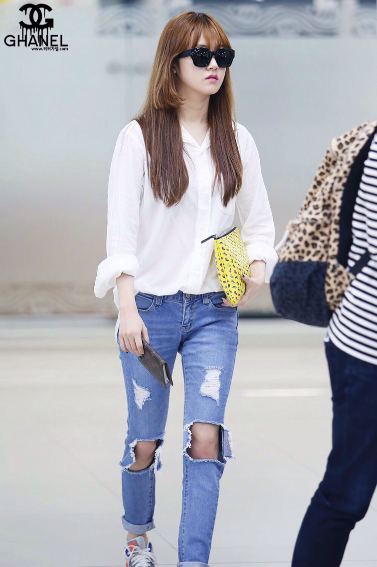 ff1d9c1c32 Gayoon airport fashion