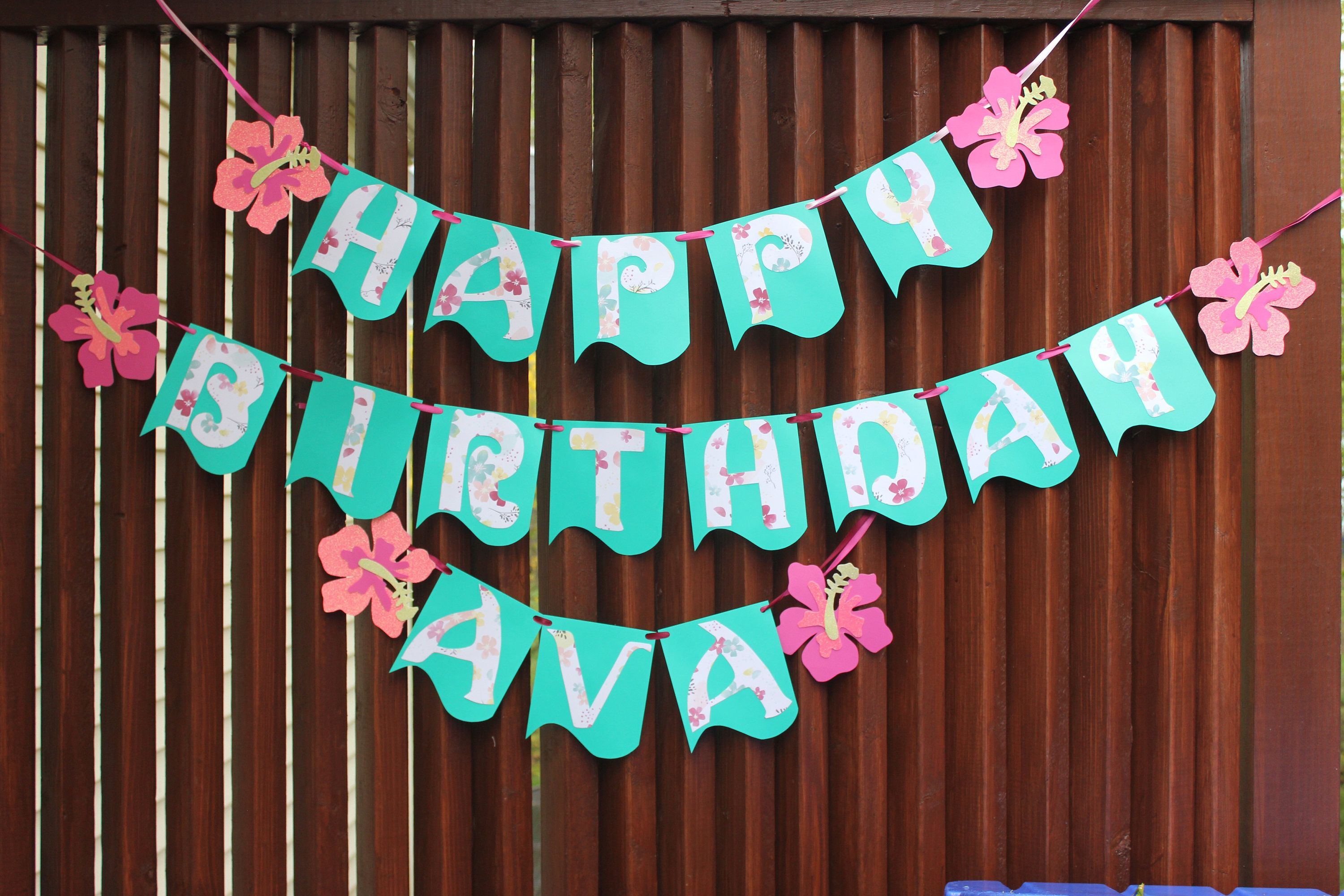 moana birthday banner Racecars or ribbons gender reveal banner | Moana birthday Aloha  moana birthday banner