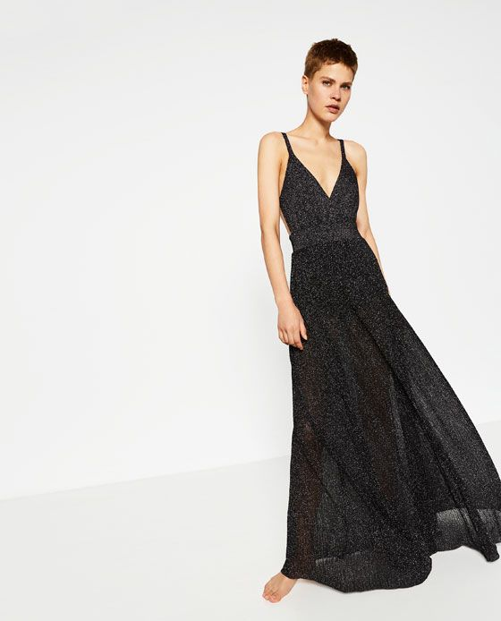 b310a88c LIMITED EDITION LONG DRESS from Zara | all I want is everything ...
