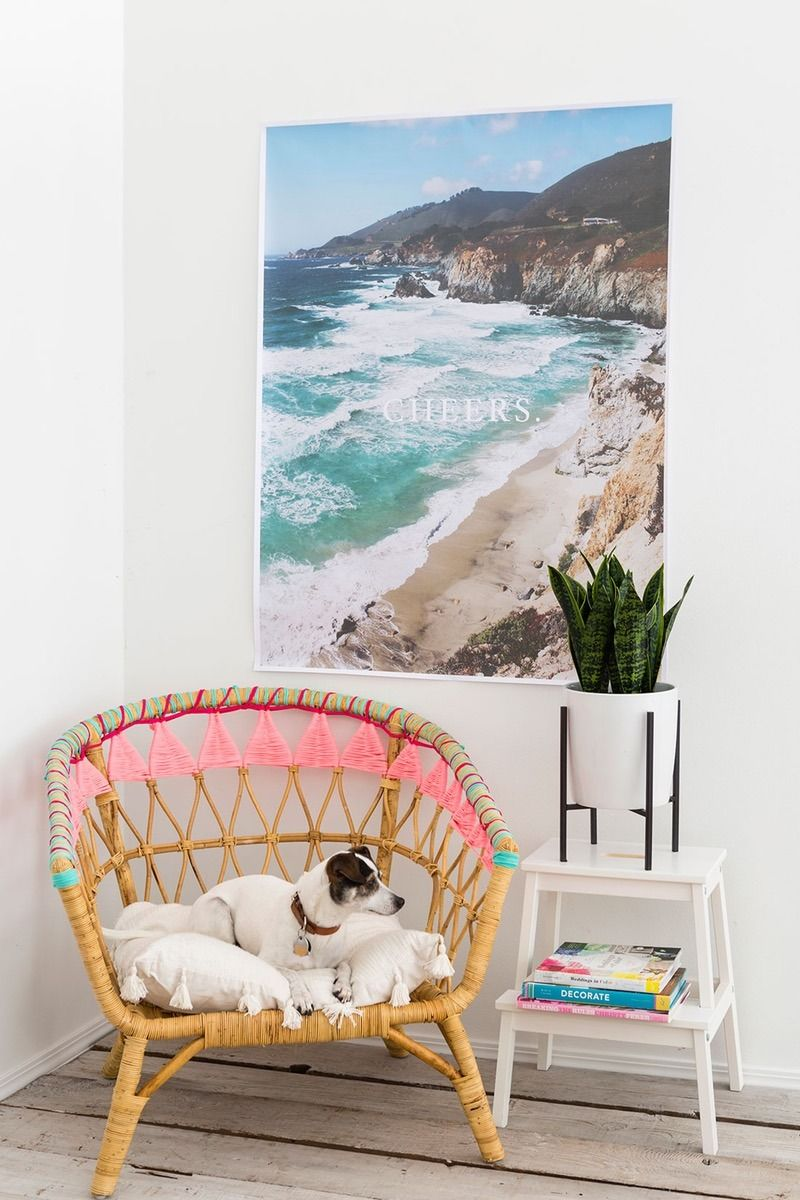 Bookmark This To Ikea Hack Your Classic Rattan Chair With This Diy