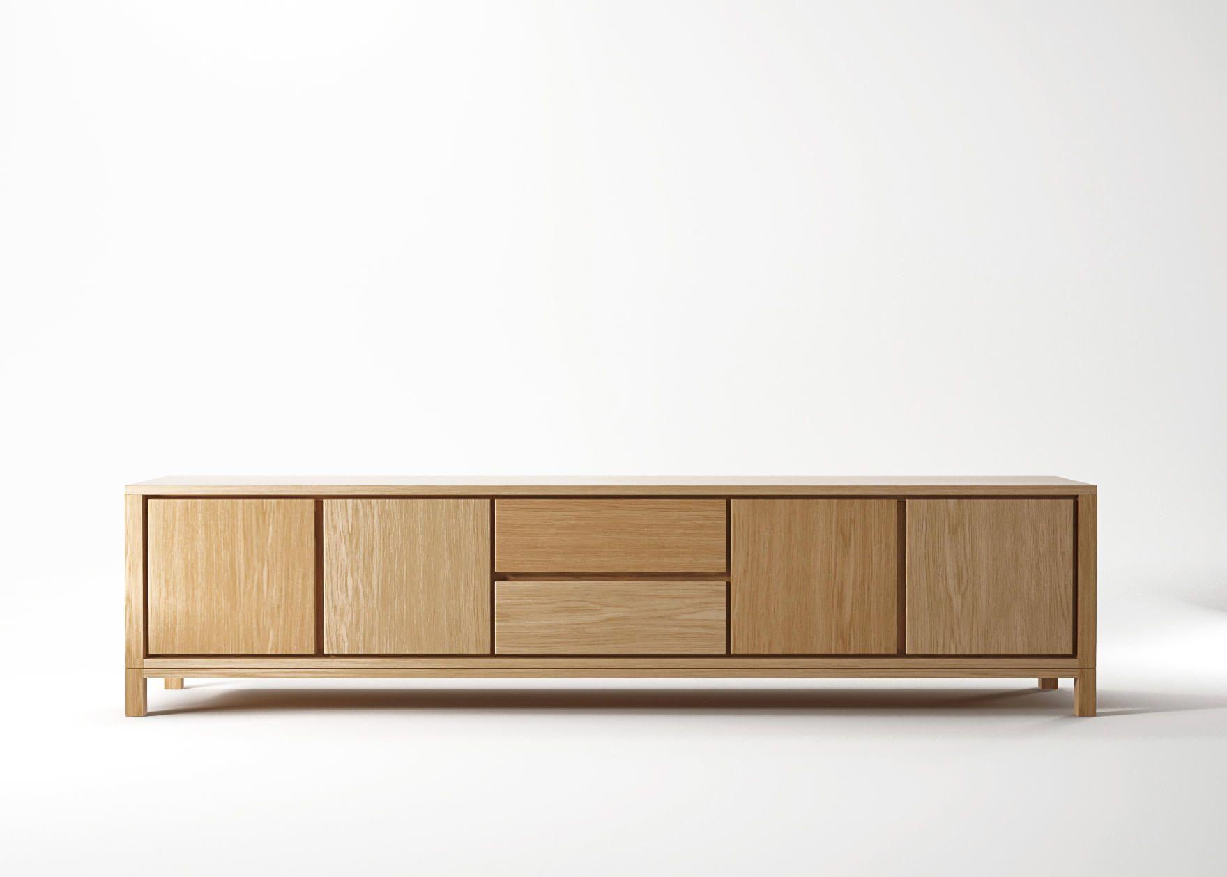 Solid Sideboard 4 Doors 2 Drawers Sideboards By Karpenter