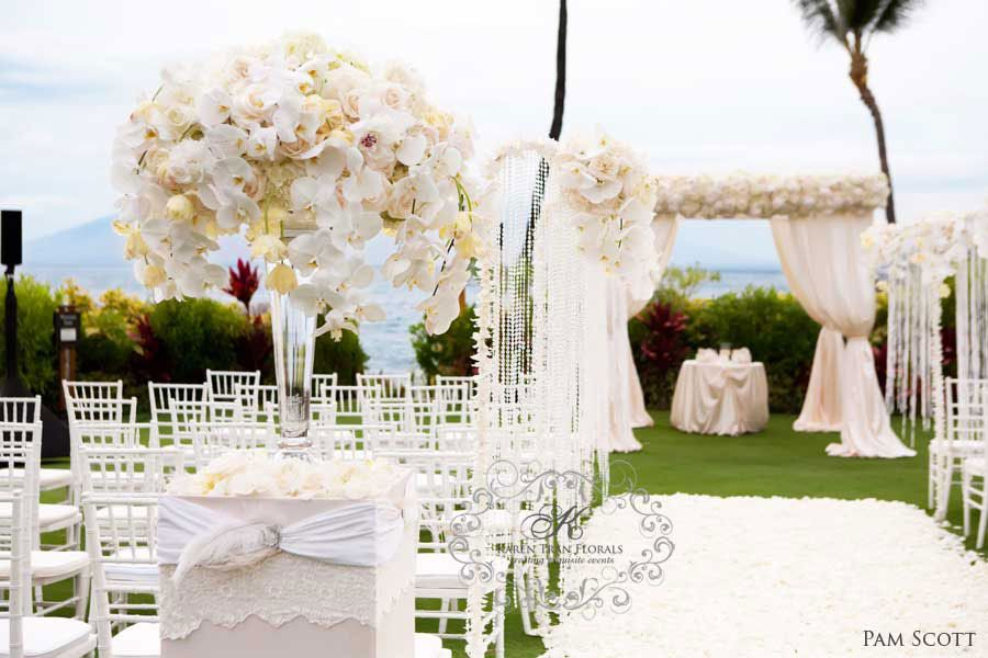 Four Seasons Wailea Maui Wedding Feature In The Bride And Bloom Magazine