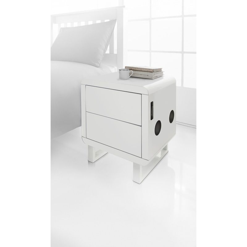 Best Contemporary White High Gloss Furniture Featuring Strong 400 x 300