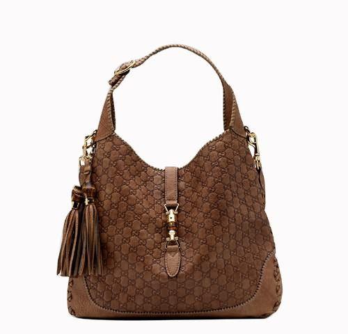 176a22b67b8c Gucci New Jackie Large Shoulder Bag Light Brown 218491 BXS ...