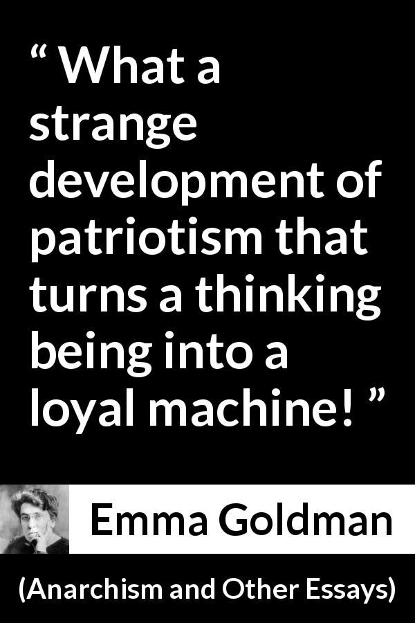 essay on patriotism with quotations
