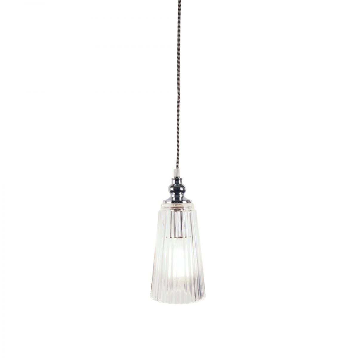 clear glass pendants lighting. Aragon Ribbed Holophane Clear Glass Pendant - Pendants Lighting \u0026 Fans