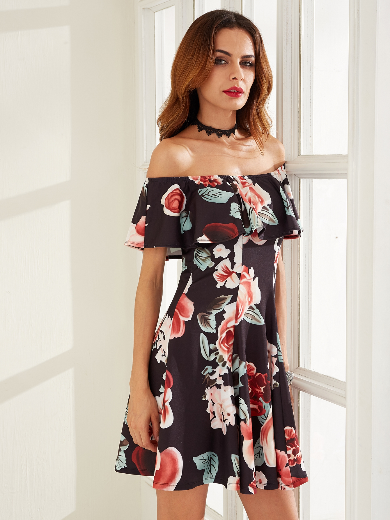 38a5ca181d Pin by Lauren Melody on H.E.A...<3<3 | Dresses, Off shoulder floral ...