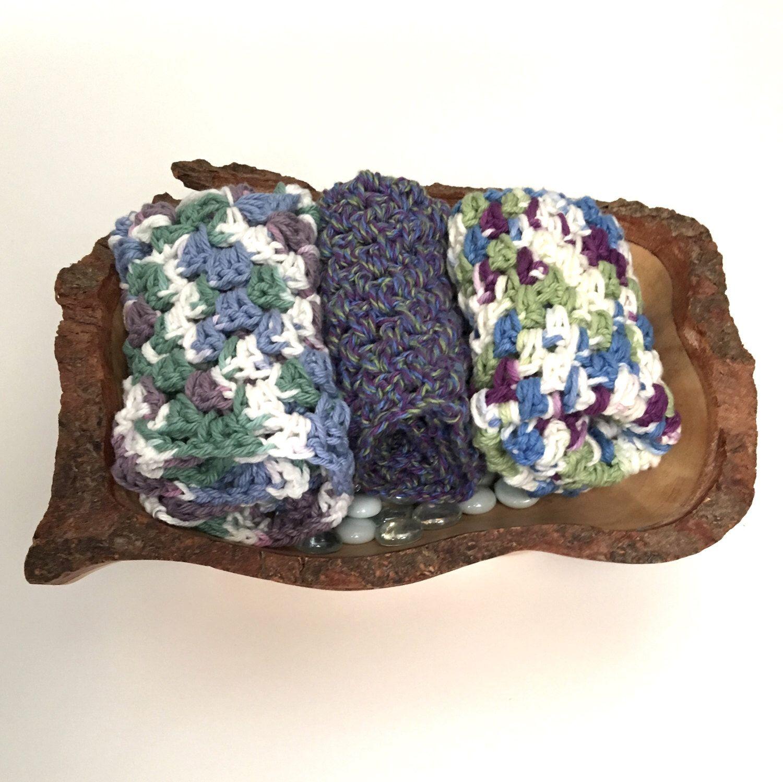 Crochet dishcloth crochet washclothcolorful dishcloth