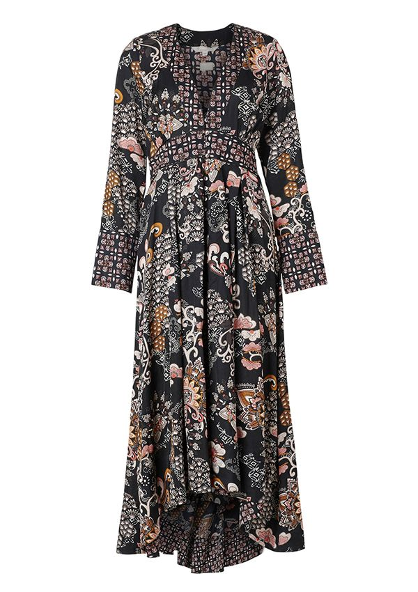 ODD MOLLY, intuition dress, almost black
