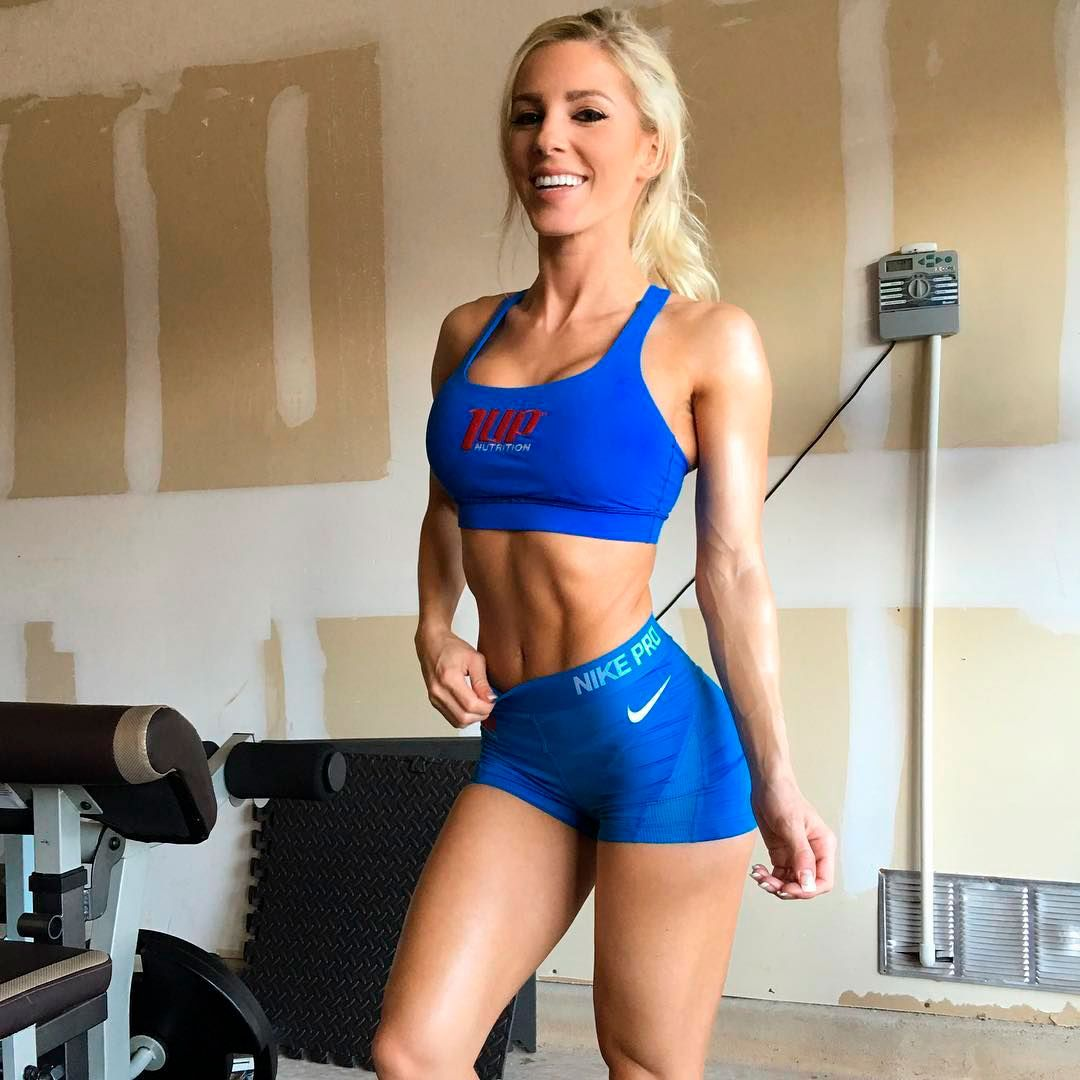 Blonde Fit Girl