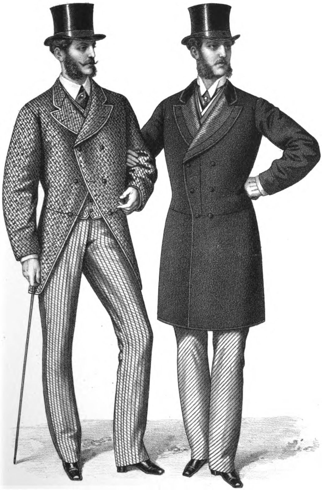 19th century historical tidbits 1868 fashion part 6
