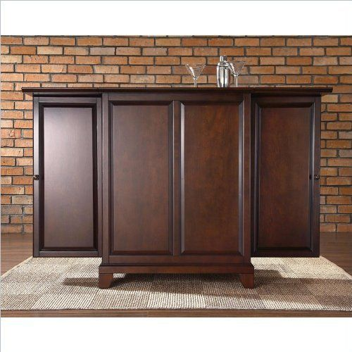 Crosley Furniture Newport Expandable Bar Cabinet in Vintage Mahogany Finish by Crosley Furniture, http://www.amazon.com/dp/B004GZTWKO/ref=cm_sw_r_pi_dp_TgV6qb0BK03V8