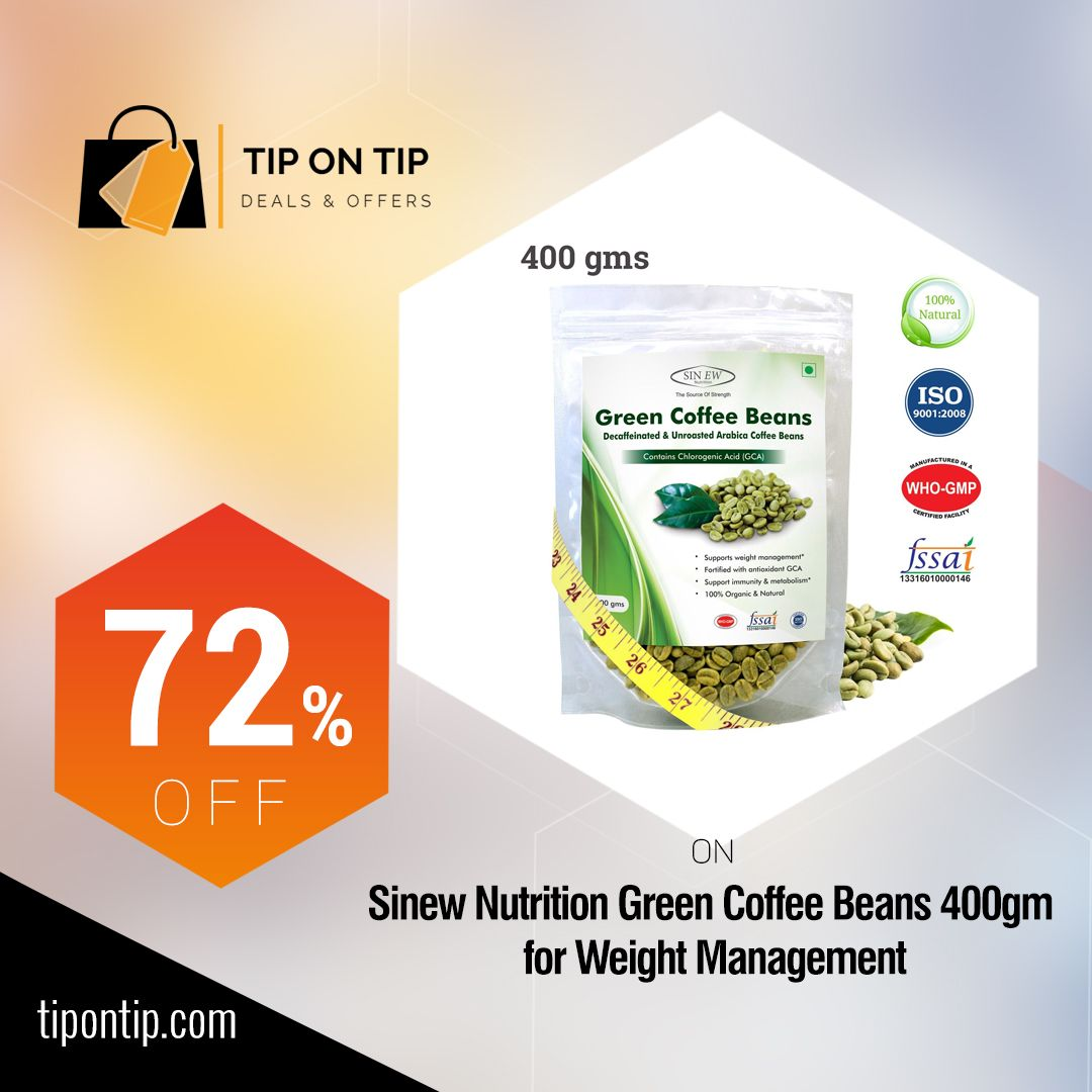 Buy sinew nutrition green coffee beans decaffeinated