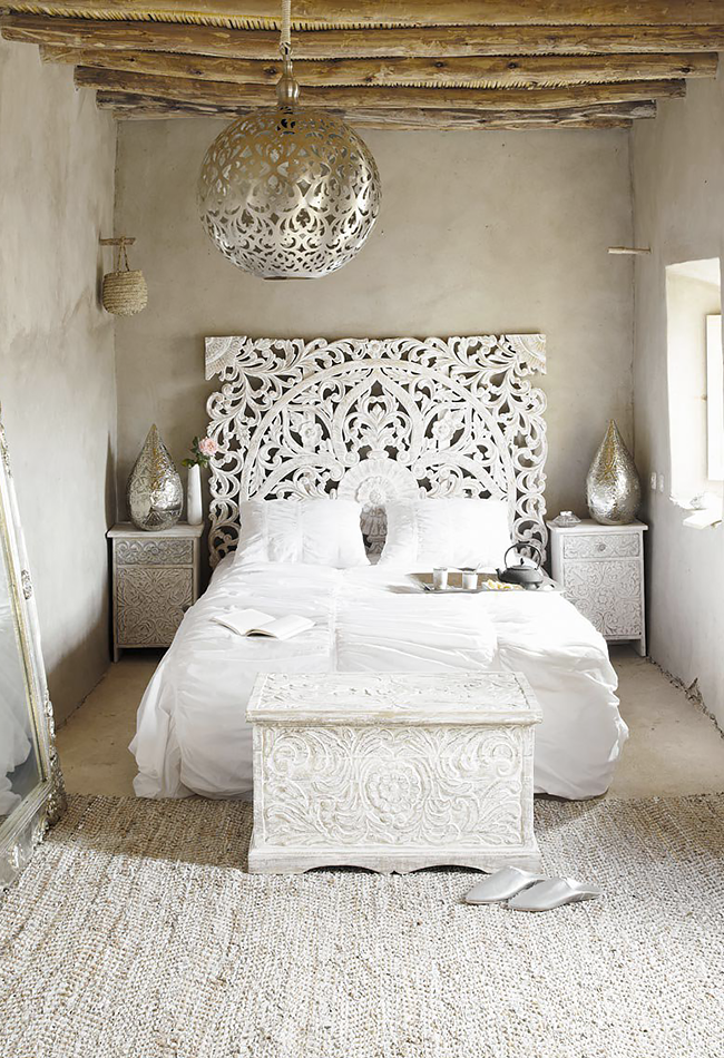 Love The Headboard Could Sub With Wall Hangings