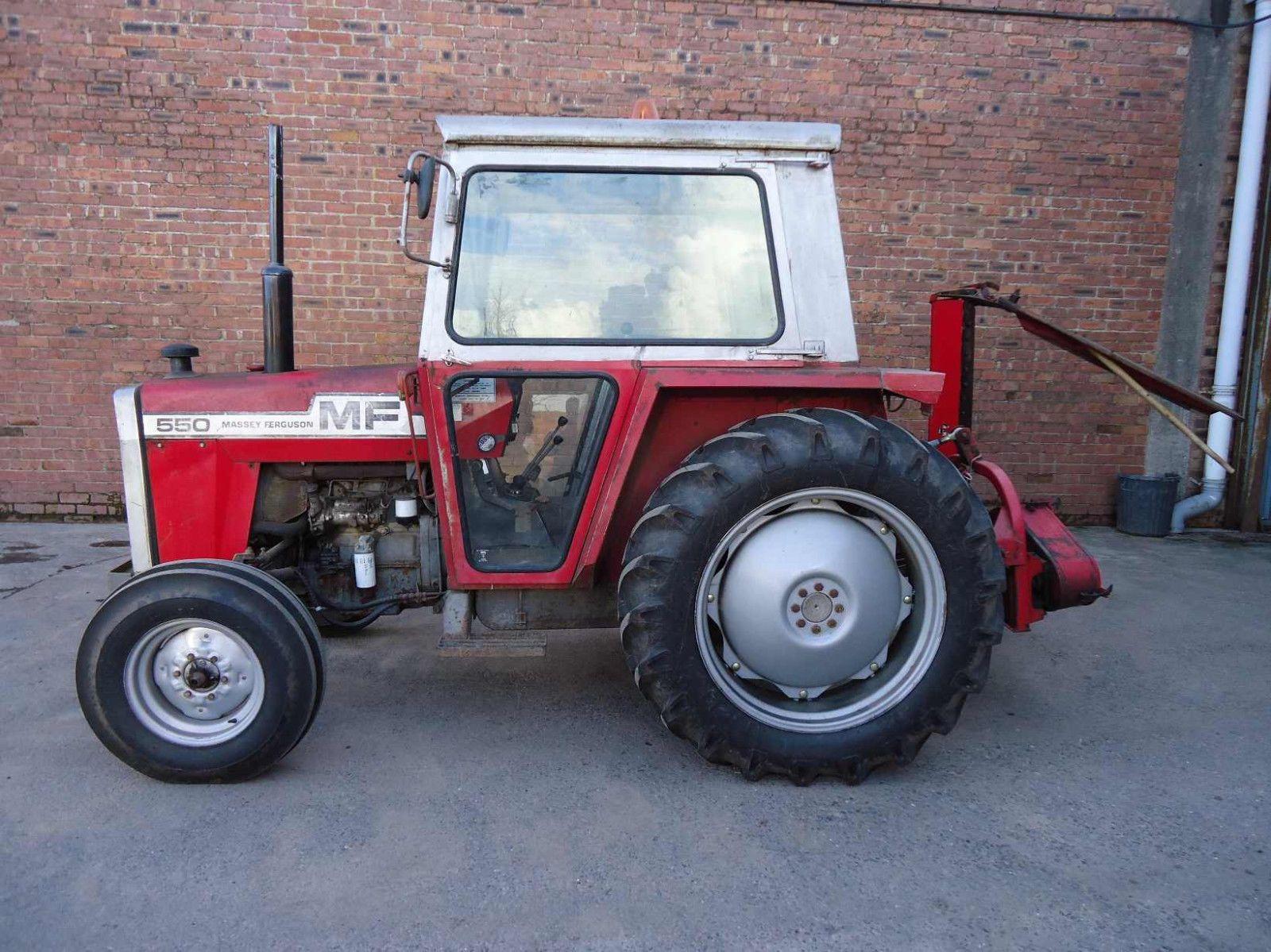 Massey Ferguson 550 565 575 590 Tractor Workshop Manuals - 500 Series |  eBay Agriculture Farming