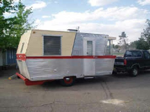 1960 Holiday House Travel Trailer Vintage Trailers Vintage Rv