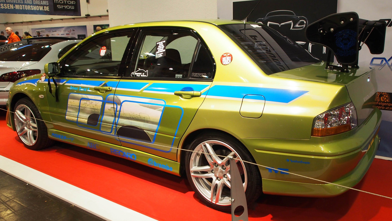 Mitsubishi Lancer Evolution 7 RS-spec at Essen Motorshow - Exterior Walk...