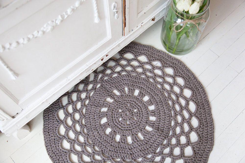 Hoooked Crochet Round Rug Kit In