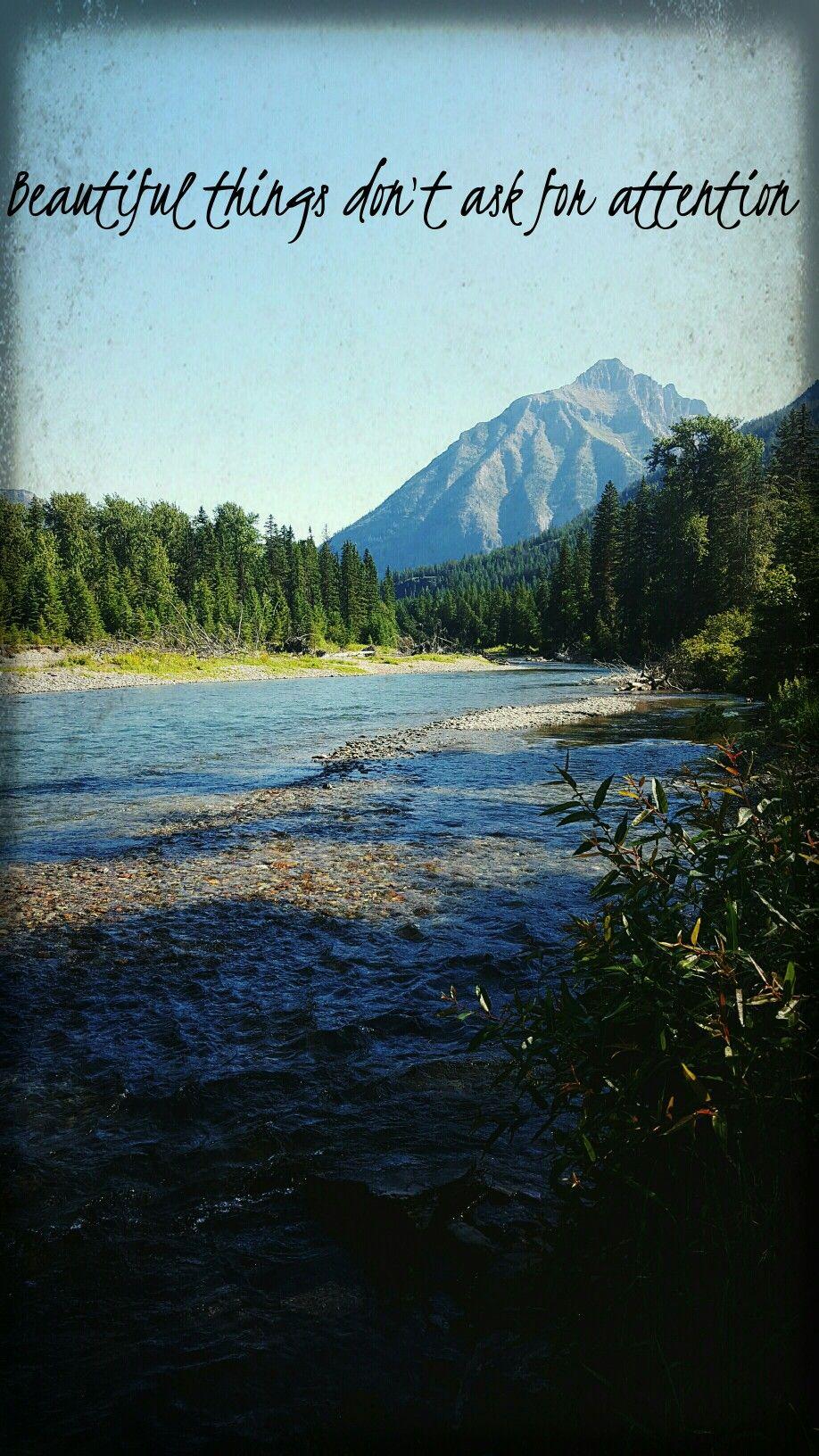 Nature Beauty Mountains Quotes Montana Randoms Pinterest