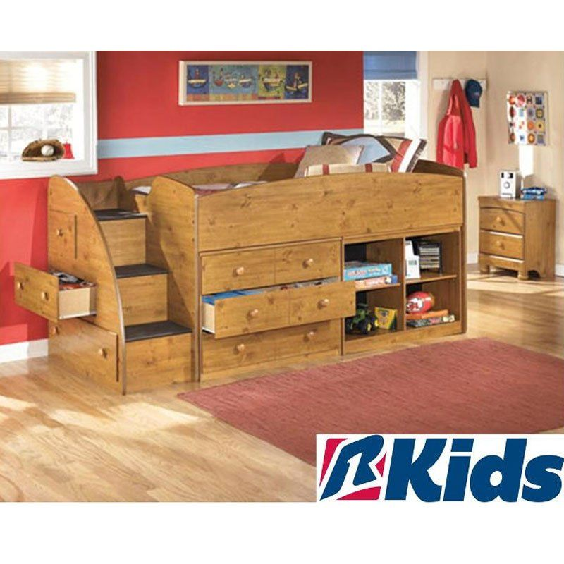 Add the  Stages  loft bed with tons of storage to your kidu0027s bedroom.  sc 1 st  Pinterest & Add the