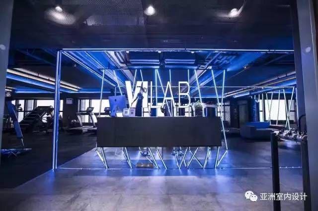 上海vilab健身房 亚洲室内设计 第343期 Gym Design Gym Decor Architecture