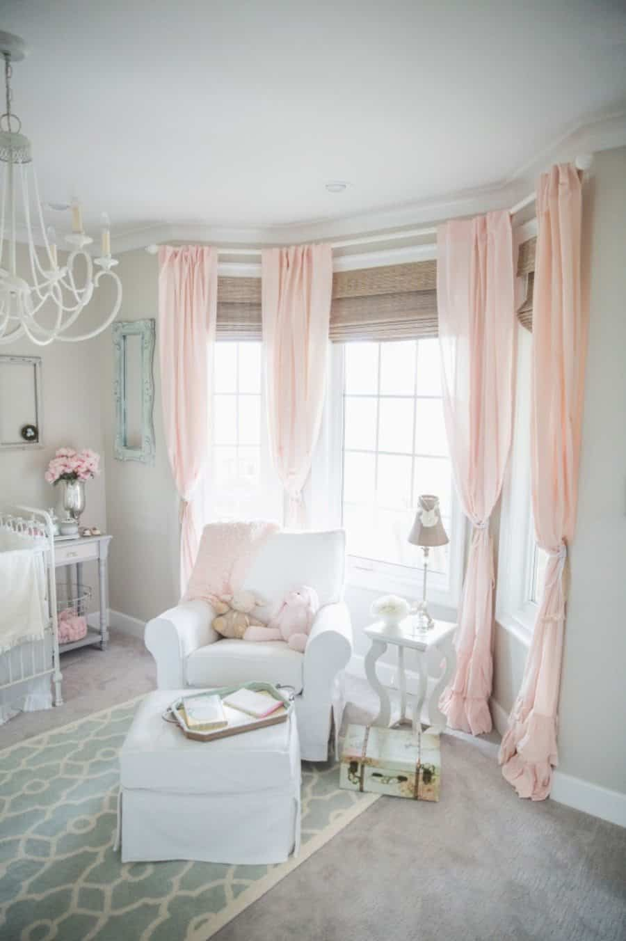The Right Baby Room Window Curtains Baby Girl Room Sweet