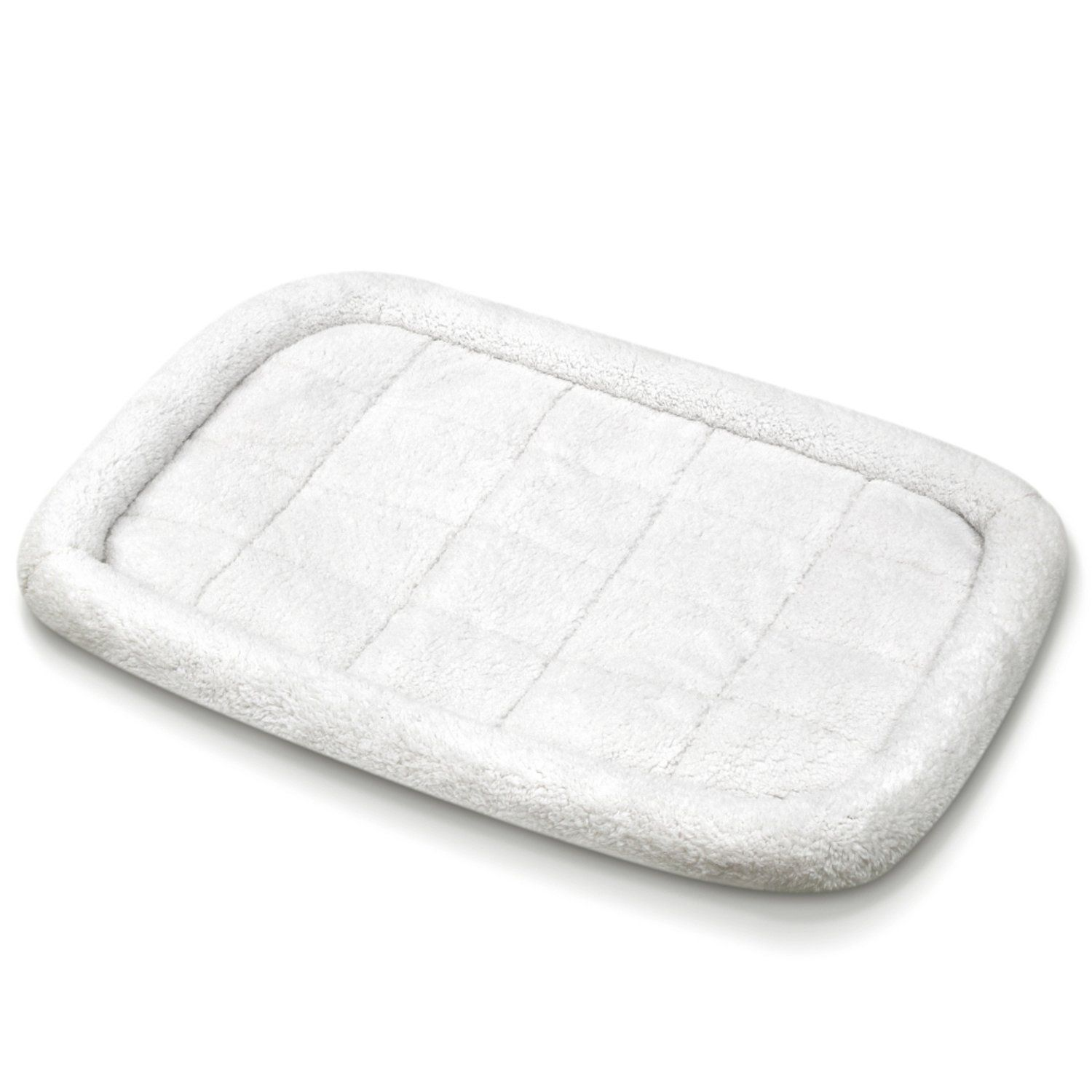Fluffy Paws Foldable Soft Fleece Pet Crate Mat Bed with