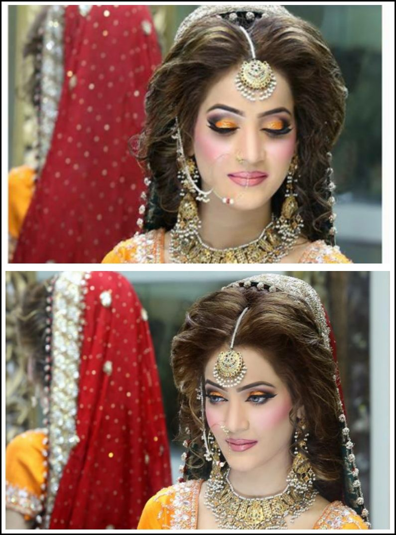 pinsummi afzal on hair | pinterest | bridal makeup, pakistani