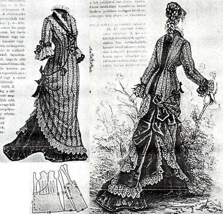 287 best Victorian patterns images on Pinterest | Sewing patterns ...