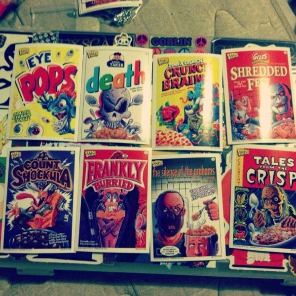 Cereal Killers Scary Movie Spoof Sticker Trading Cards All Included  #shopsmall BUY NOW $10.00